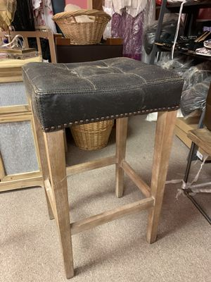Willoughby Leather Barstool for Sale in High Point, NC