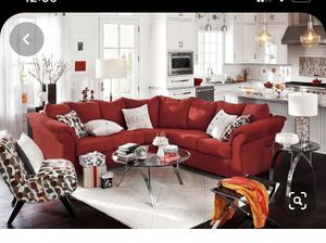 Beautiful red couch - like new for Sale in Gambrills, MD