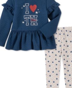 Tommy Hilfiger Baby Girls Peplum Tunic for Sale in Clifton,  NJ