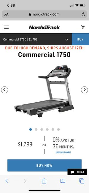 Nordic track commercial model 1750 for Sale in Washington, PA