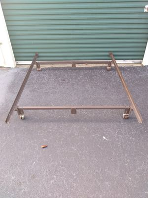 Metal bed frame for Sale in S CHESTERFLD, VA