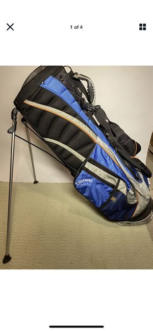 Callaway 8 Way Golf Cart Bag w/ Stand & Backpack Straps- Used, GREAT Condition for Sale in New Rochelle, NY