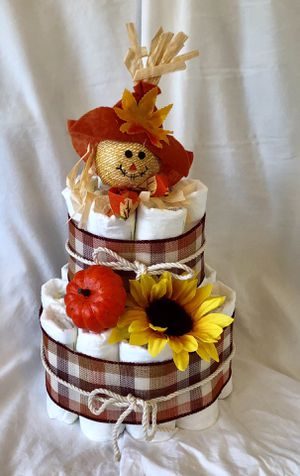 Fall Diaper Cake for Sale in New Haven, CT