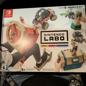 Nintendo switch LABO Vehicle Kit // NEW for Sale in Compton, CA