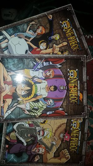 One piece DVD Season 2 1-3 voyage, for Sale in Haines City, FL