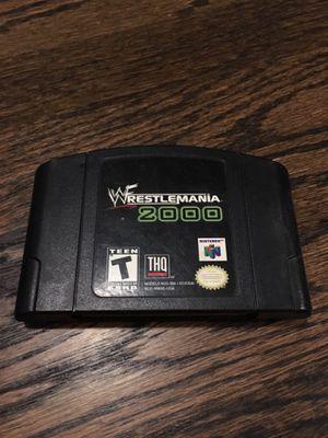 N64 WWF Wrestlemania 2000 Game for Sale in El Segundo, CA