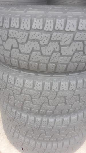 Set of tires installed 225 65 17 for Sale in Atlanta, GA