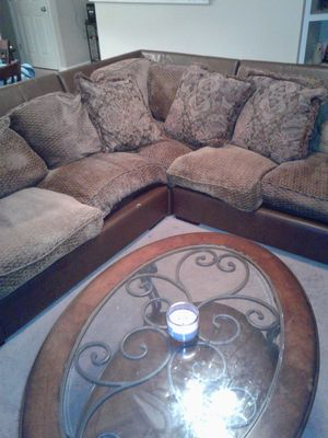 Sectional for sale...need gone asap!!! for Sale in Greensboro, NC