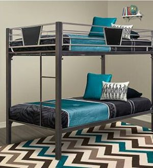 Exact bunk beds twin size for Sale in Jersey City, NJ