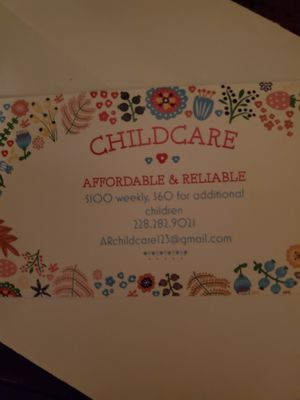 Childcare Available Saturdays for Sale in Biloxi, MS