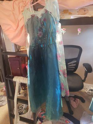Disney sz 7/8 Elsa summer dress for Sale in Jupiter, FL