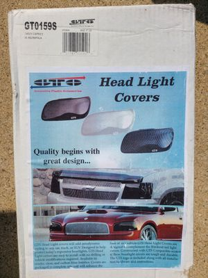 1996 impala/caprice headlight covers for Sale in Des Plaines, IL