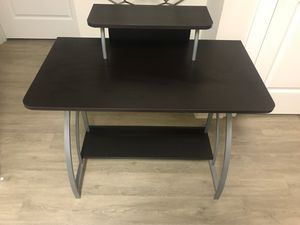 Espresso Computer Desk for Sale in Raleigh, NC