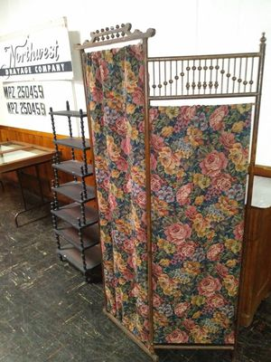 Antique 3 panel screen or Antique Shelf for sale for Sale in St. Louis, MO
