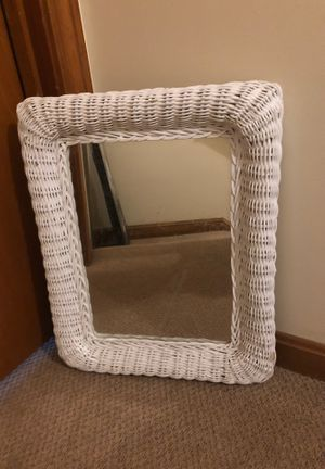 Wicker Hanging Mirror for Sale in Mashpee, MA