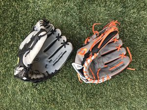 Baseball gloves for Sale in Simi Valley, CA