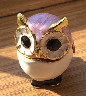 Brand New Owl Trinket Box for Sale in Lake Elmo, MN