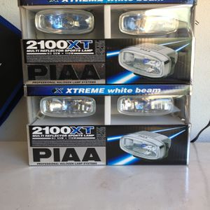 PIAA Halogen Lamps - New In Box -2 Pair for Sale in Watsonville, CA