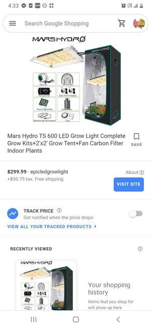 Marshydro tent for Sale in Chicago, IL