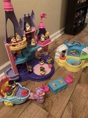 Little People Princess Castle and Dolphin Trainer Playsets for Sale in Metcalf, GA