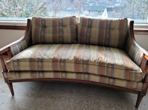 Mid Century Paul Schatz Love Seat