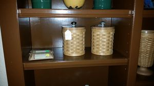 Longaberger small canister for Sale in Arlington, TX
