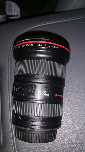 Canon 16-35mm f/2.8 usm ii for Sale in Washington, DC