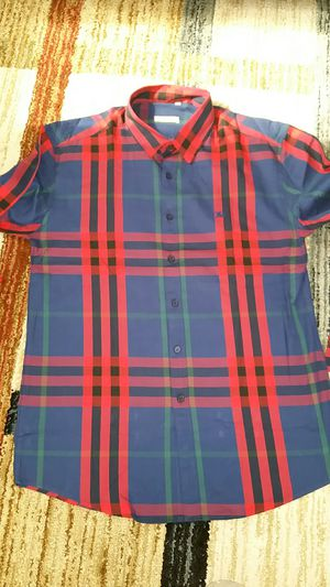 Burberry men's shirt size L slim fit for Sale in Whittier, CA