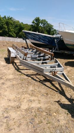 Tandum axel galvanized boat trailer for Sale in Martinsburg,  WV