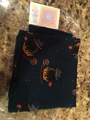Lularoe Halloween Leggings One Size OS Witch Witches Cauldrons for Sale in Centreville, VA