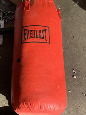 Punching bag for Sale in Tacoma, WA