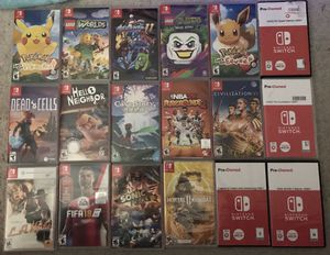 Nintendo switch games for Sale in Marysville, WA