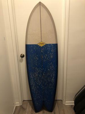 Almond Sandia Fish Surfboard Double Fin - 5'10 for Sale in Costa Mesa, CA