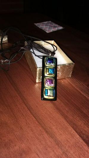 Glass pendant necklace new in gift box for Sale in Alexandria, VA