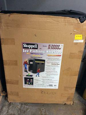 Shappell S3000E Ice Fishing Shelter for Sale in Nashville, TN