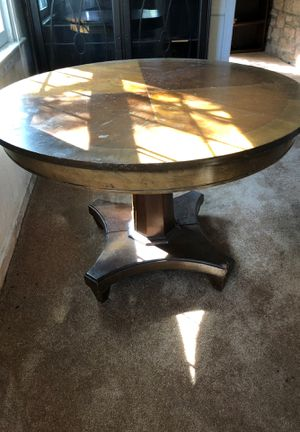 Antique table and set of 4 chairs for Sale in Jenkintown, PA