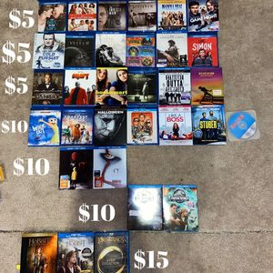 Blu Ray Movies for Sale in Bunker Hill, WV