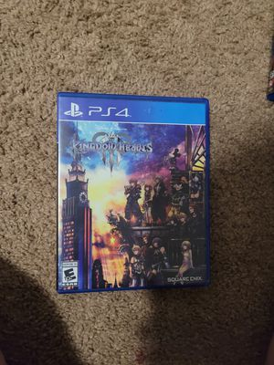 Kingdom hearts 3 ps4 for Sale in Randleman, NC