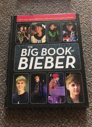 justin bieber book hard back for Sale in Orlando, FL