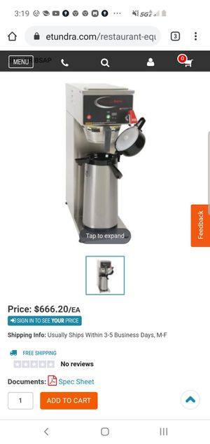Grindmaster PersisionBrew B series for Sale in Oakland, CA