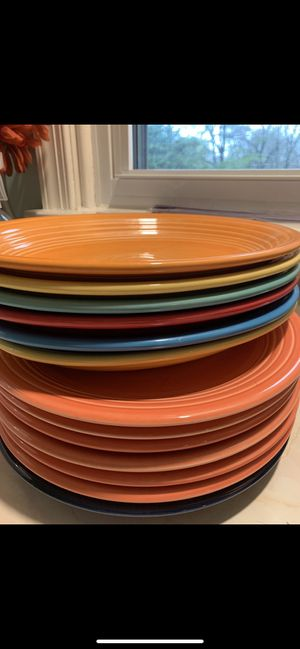 Fiesta ware platters/plates for Sale in Parkville, MD