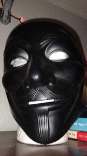 V for vendetta mask for Sale in San Bernardino, CA