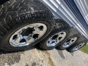 Dodge 8 Lug stock wheels and tires for Sale in Finksburg, MD