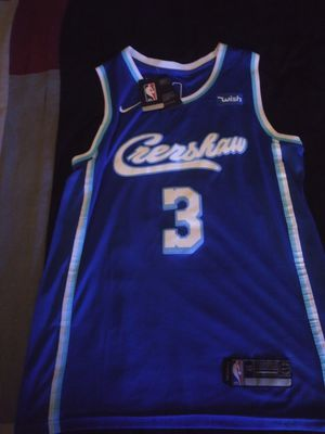 Nipsey Hustle inspired L.A. Lakers City jersey for Sale in Longview, TX