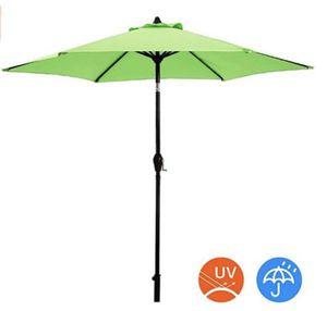9 ft Patio Garden Outdoor Table Tilt Umbrella 9ft Light green for Sale in Ontario, CA