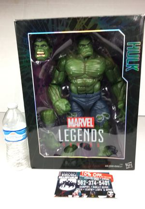 15 inches tall Hulk toy hulk marvel legends Hulk buster Avengers Iron Man Spiderman Captain America wonder woman joker Harley Quinn Batman Deadpool for Sale in La Habra Heights, CA