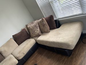 Wrap around couch for Sale in Raleigh, NC