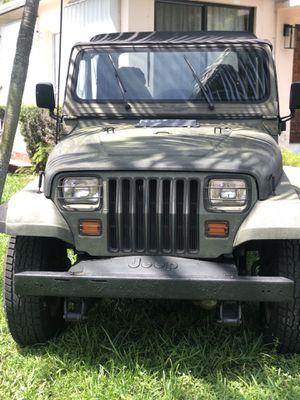 1991 Jeep Wrangler for Sale in Miami Shores, FL