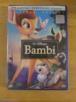 DISNEY BAMBIE DVD for Sale in Kannapolis, NC