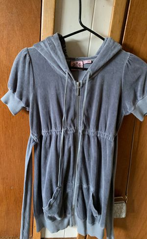 Juicy Couture dress long hoody jacket for Sale in Tacoma, WA